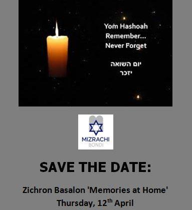 yom hashoah date